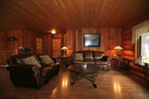 Pioneer Log Home on 162 Acres with Ranch Land - Horsefly BC