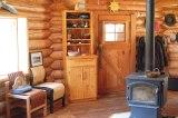 Blockhaus, Kanada, British Columbia, Cariboo, Horsefly,