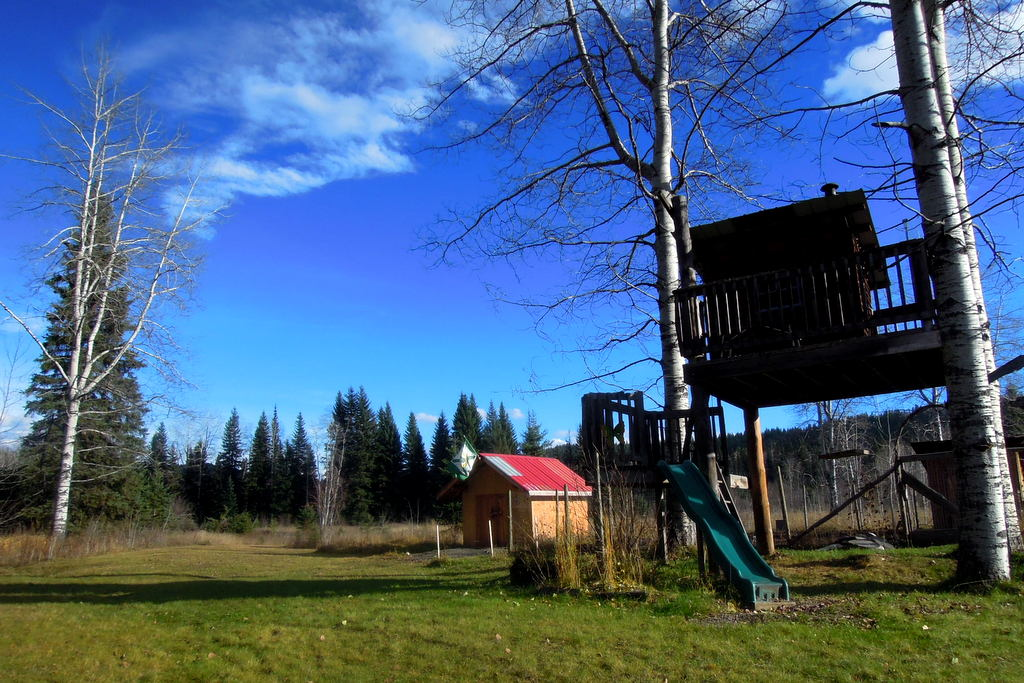 34 Acres on Horsefly River with Pioneer Log Home - 4316 Horsefly-Quesnel Lake Road Horsefly, BC