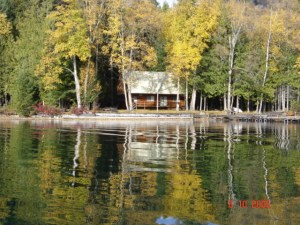 Horsefly Lake cottage