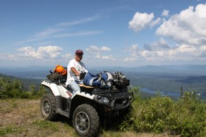trail master Wayne Johnson