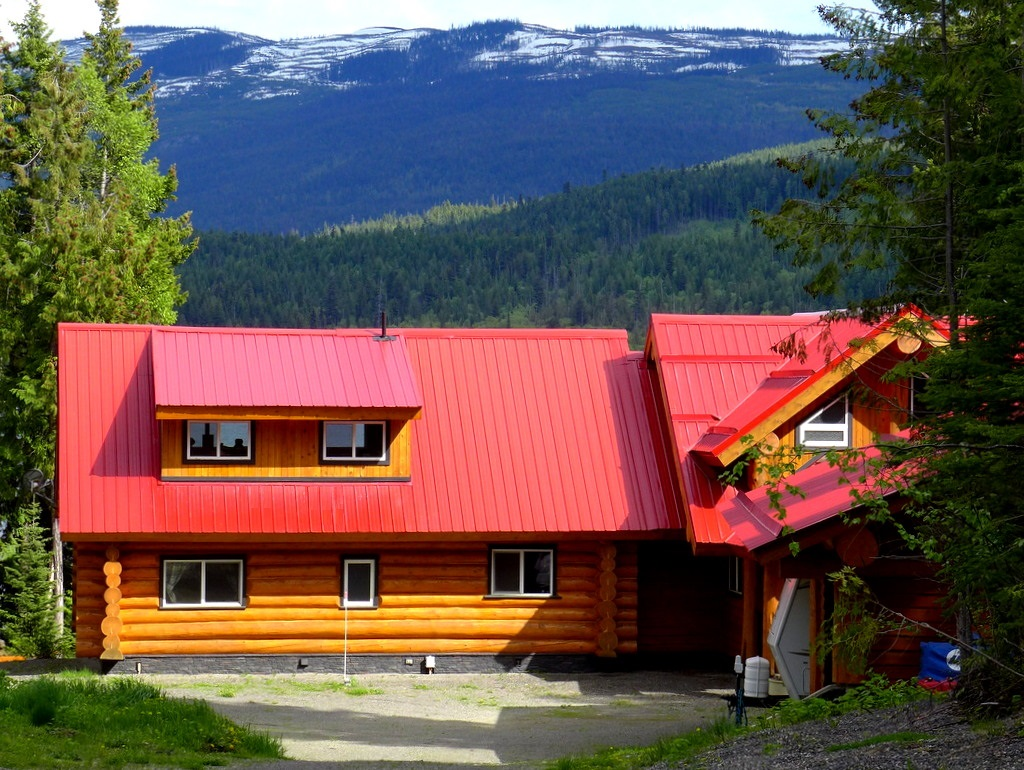 Bc log homes and log cabins for sale canada horsefly for Log cabin builders in california
