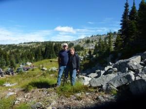 Bob & Linda on the mountain