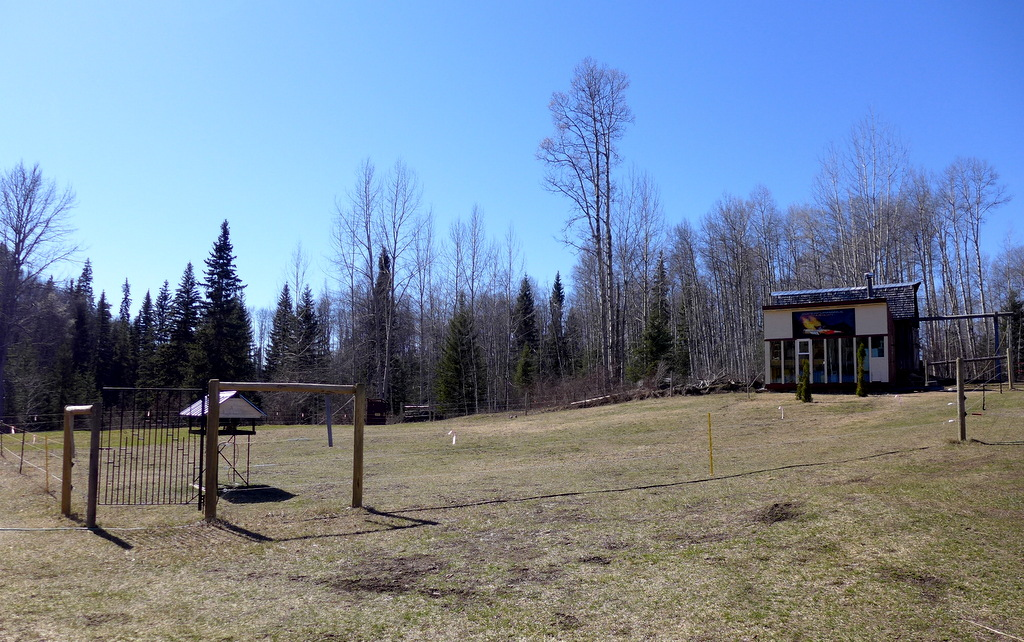 Hobby Farm on 4.33 acres with Creek near Horsefly Lake - 6394 Millar Road, Horsefly BC