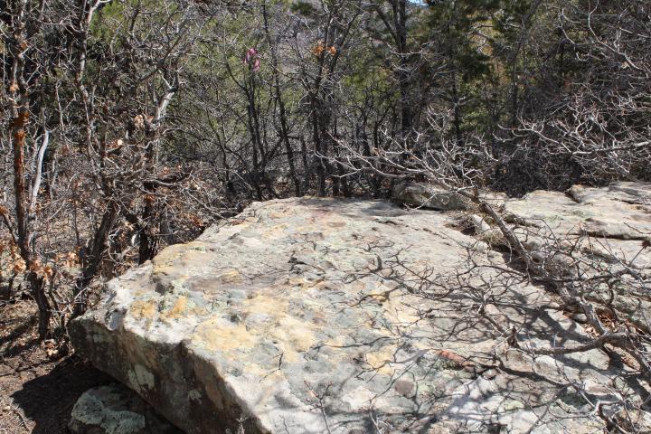 Plenty of rocks to play around on over here off of Raider Ridge.