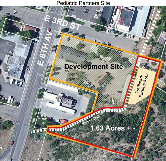The 1.63-acre parcel at the Horse Gulch trail head is now owned by the City of Durango.