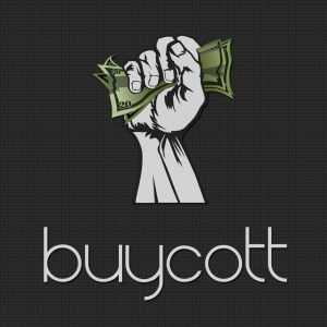 The Buycott App allows those with smart phones to categorize products at the store based on what political campaigns they wish to support or oppose. Just scan the bar code and read about the company.