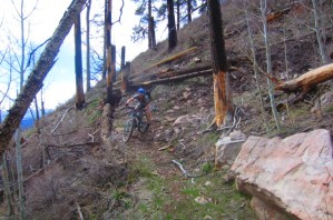 If you clean this switchback you're psyched.