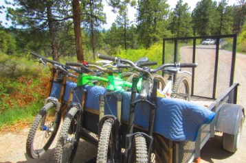 Logchutes is an area that's being considered for the creation of a sanctioned downhill mountain bike zone.