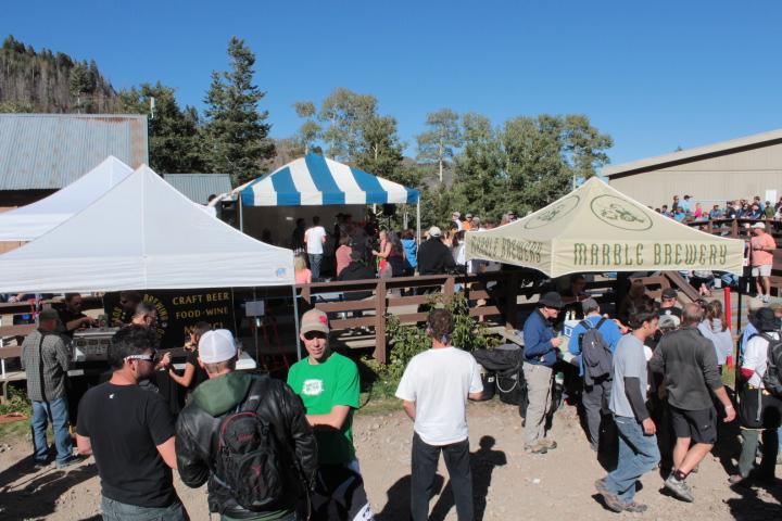 Around nine craft breweries were serving their finest at Ullr Fest 2013.