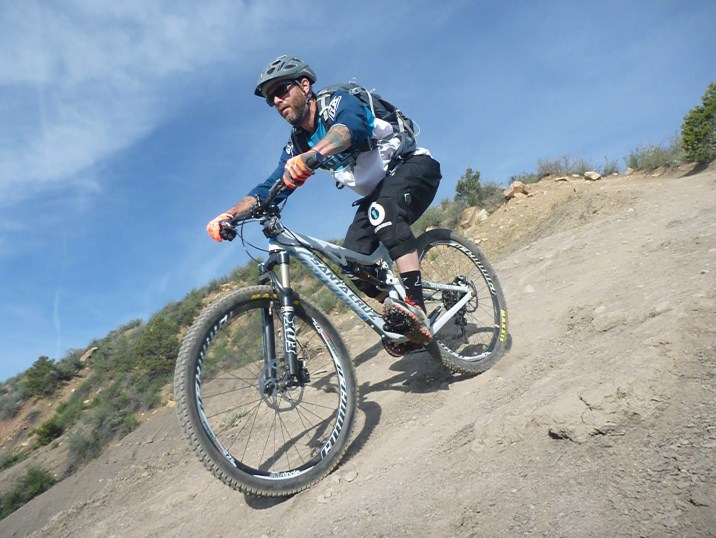 Jason Hotchkiss on Hogsback. Photo courtesy of John Castiola.