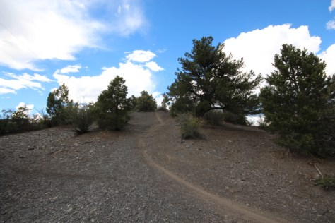 This is a segment of the Falcon Trail that was erroneously marked for closure by Durango's Assistant Community Development Director Kevin Hall due to his incorrect classification of it as a trespass.