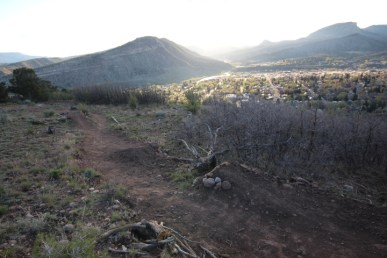 Kitty Charmer Trail, was a freeride trail coming off of Raider Ridge that was known for its challenging yet enjoyable gap jumps.
