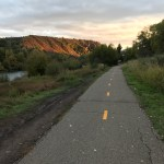 Photo essay of new signage on a non-congested Animas River Trail