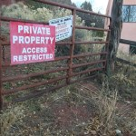 Court order gave prescriptive easement for public right-of-way on Falls Creek Road