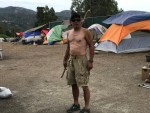 Jeff Hammerly lives at the homeless camp on La Plata County land.