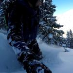 Video of recent downhilling on the splitboard