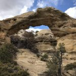 More photos of arches that you've probably never seen before in Aztec, New Mexico