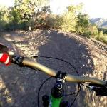 Ned's Hill trail mountain bike descent POV video