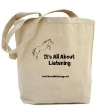It's All About Listening Tote Bag