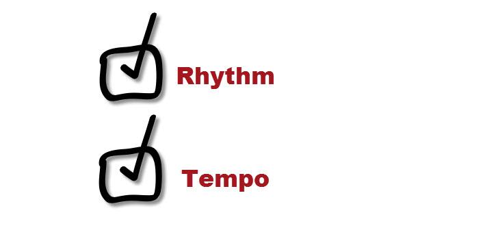rhythm tempo