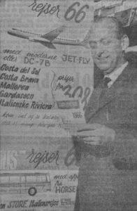 Aage Hjelt er ved at planlægge sæsonen 1967