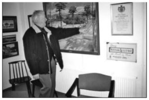 Arthur på besøg i Lokalarkivet, 2007
