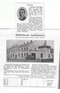 Midtlollands_Andelsmejeri_og_bestyrer_Ludvigsen