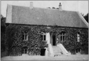 Skovriderboligen i Stensballe Skov ca. 1960
