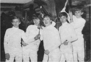Et godt billede: Fra venstre Preben Andersen, John Teglgaard, Kurt Hermann, Ove Jespersen og Lars Larsen.