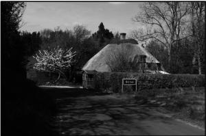 Indkørsel til Blirup fra syd 2011. Foto af Poul Erik Schreiber.(POS)