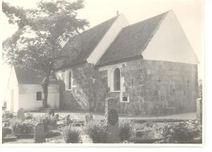 Nim kirke, set fra øst.