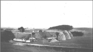 Gården i Meldrup, ca. 1950.