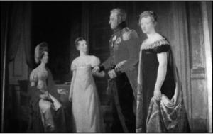 Kong Frederik 6. med dronning Marie Sophie Frederikke og deres to døtre. Maleriet findes på Rosenborg