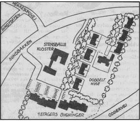 Nye bebyggelser omklamrede Stensballe Kloster