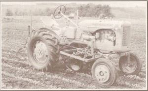 Allis Chalmer traktor