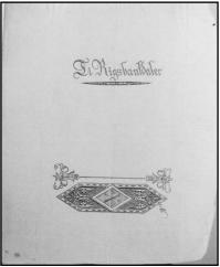 Frederik 6. s proklamation om den nye Rigsbankdaler, 1813. Statens Arkiver.