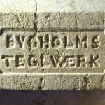 Bygholm Teglværk mangekantet sten