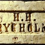 Bygholm Teglværk sten HH