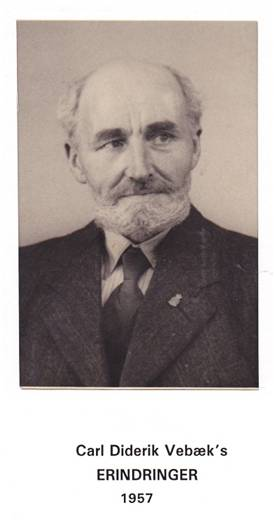 0cda1e89f25 Carl Diderik Vebæk (1877-1962) - Horsens Leksikon