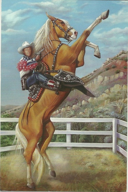 Roy Rogers Horse Postcards