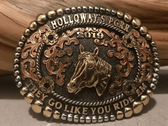 horse riding buckle
