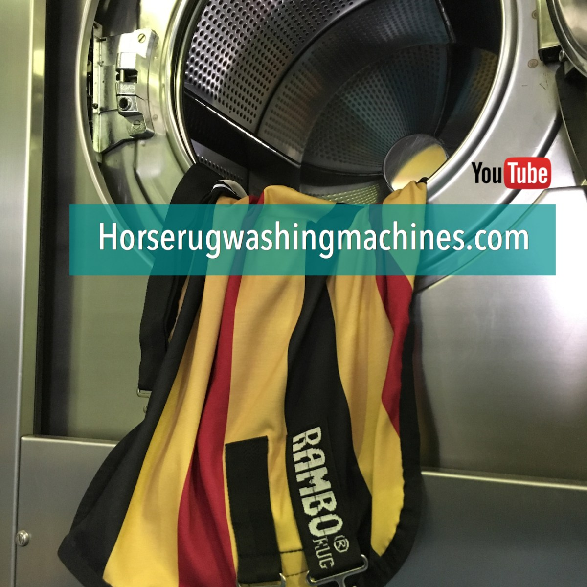 Horse Blanket Washing Machine