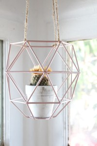 IKEA Hack: Turn a Pendant Light into a Hanging Planter ...
