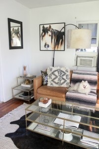 Layered Rugs: Living Room Update | Horses & Heels