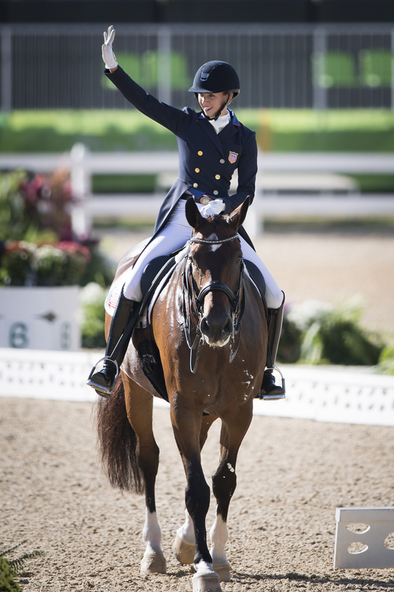 They Did It Usa Dressage Team On The Podium With Olympic