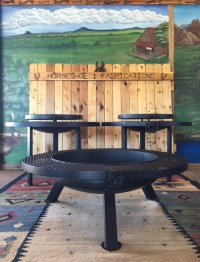 Custom Firepits BBQ Grills & Picnic Tables in West Texas