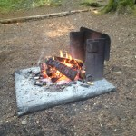 Camping with the kids- it's all fun and games …well, usually…