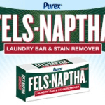 Stubborn Stains? I Found A Solution: Purex® Fels-Naptha Laundry Bar Review