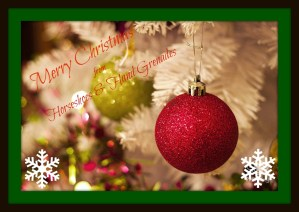 Merry Christmas from Horseshoes and Hand Grenades